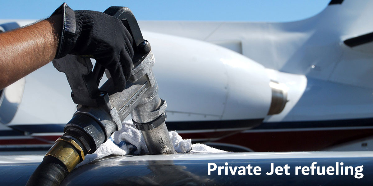 Private Jet – Refueling
