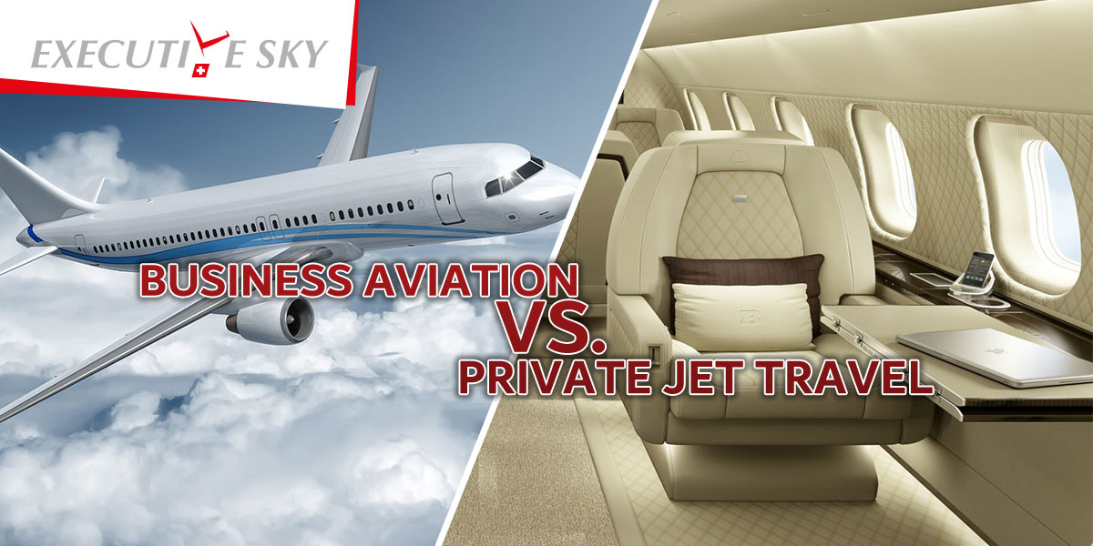Business Aviation Vs. Private Jet Travel