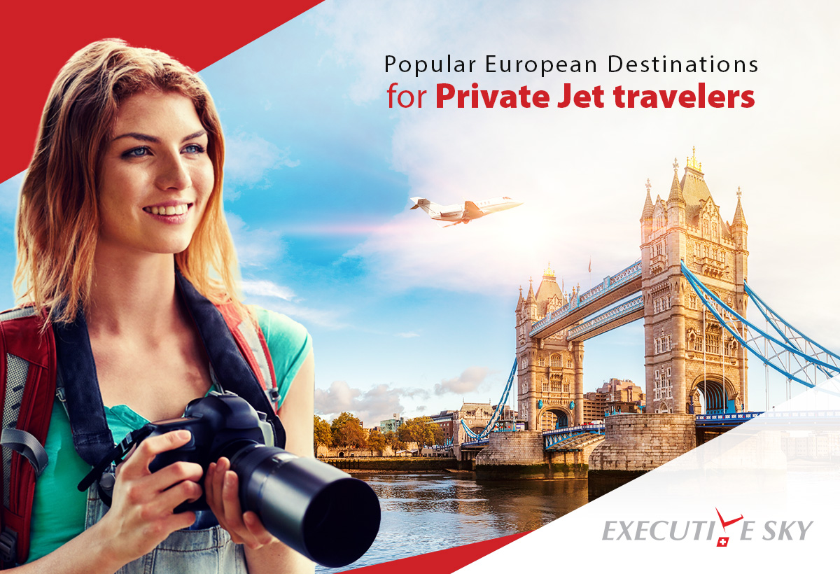 Popular European Destinations For Private Jet Travelers