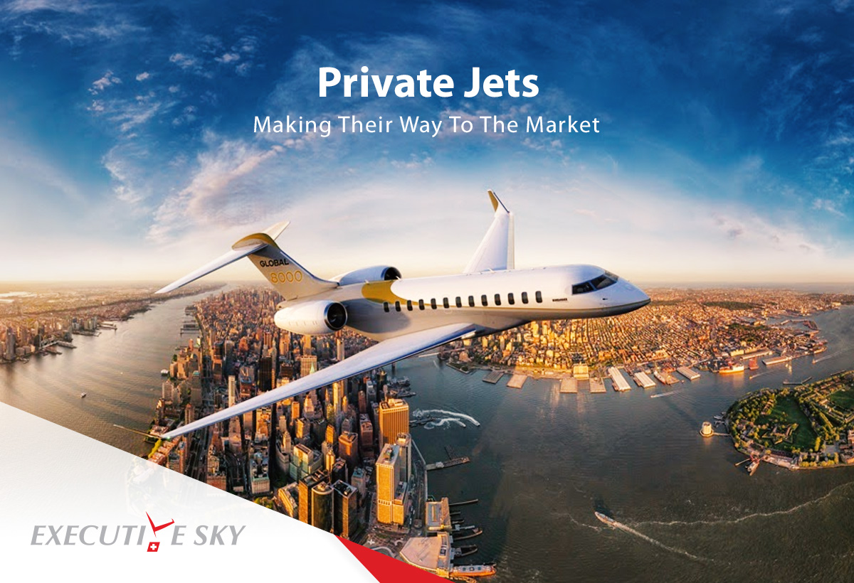 Private Jets Making Their Way To The Market